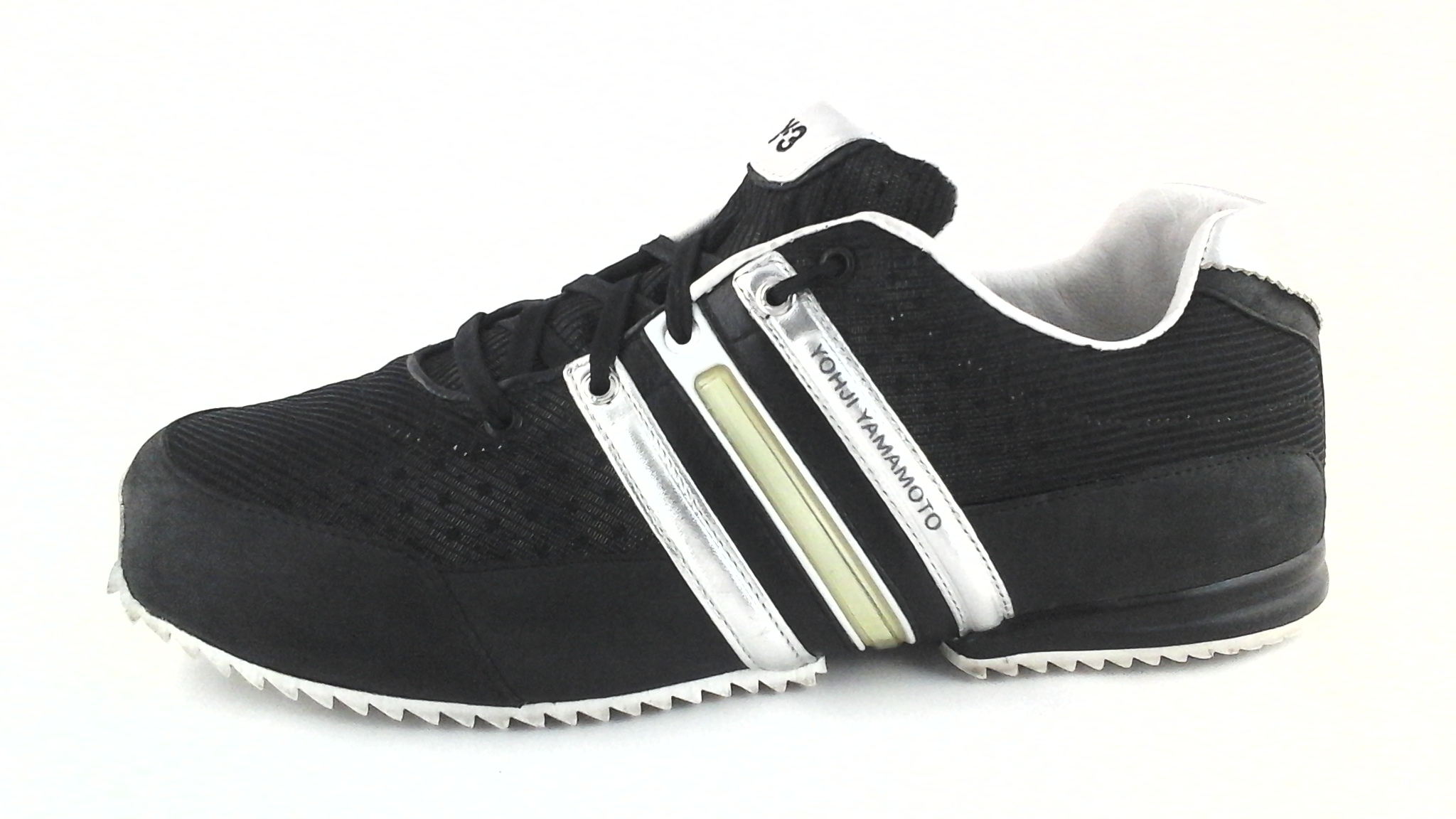 c370c7c98ed9e ADIDAS Y-3 Yohji Yamamoto Sprint Black Silver SNEAKERS Shoes US 8 EU 41 1 3   320