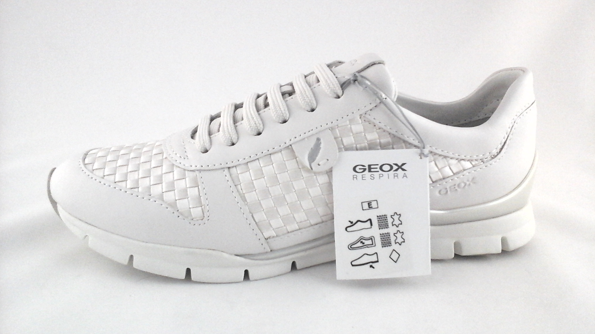 Details about Geox Respira D52F2A Women's Comfort Walking Sport Shoes Pearl US 7 EU 37 New