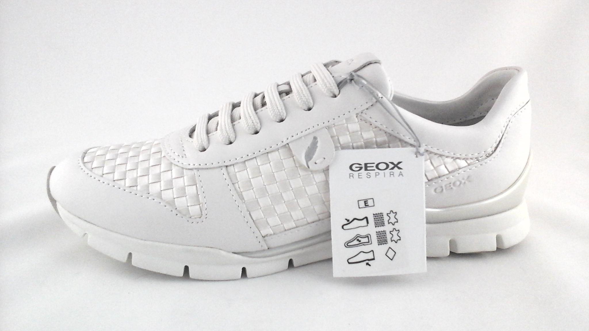 venta de bajo precio siempre popular Últimas tendencias Geox Respira D52F2A Women's Comfort Walking Sport Shoes Pearl US 7 ...