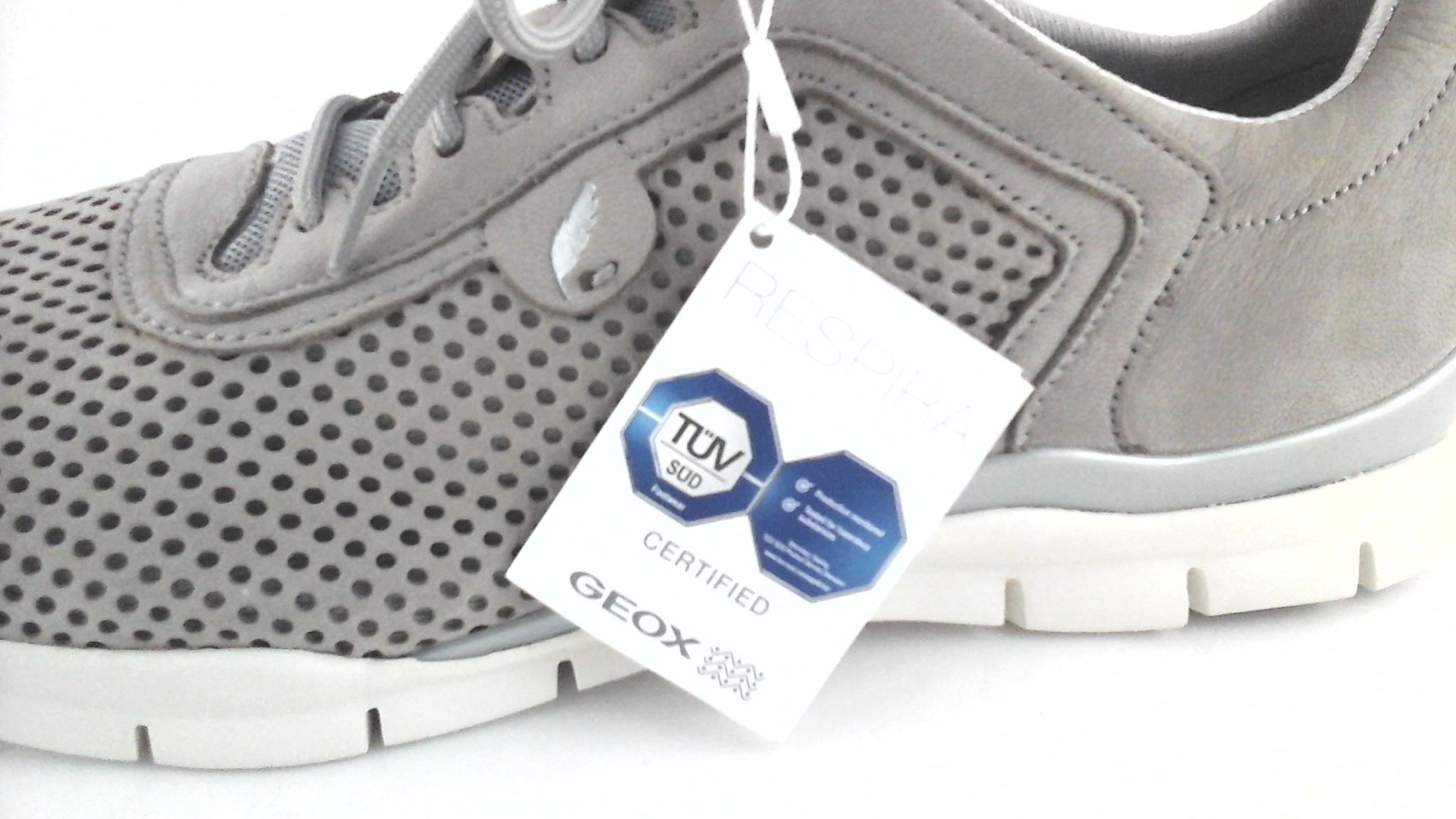Geox Respira Women's Comfort Walking Sport Shoes Taupe US ...