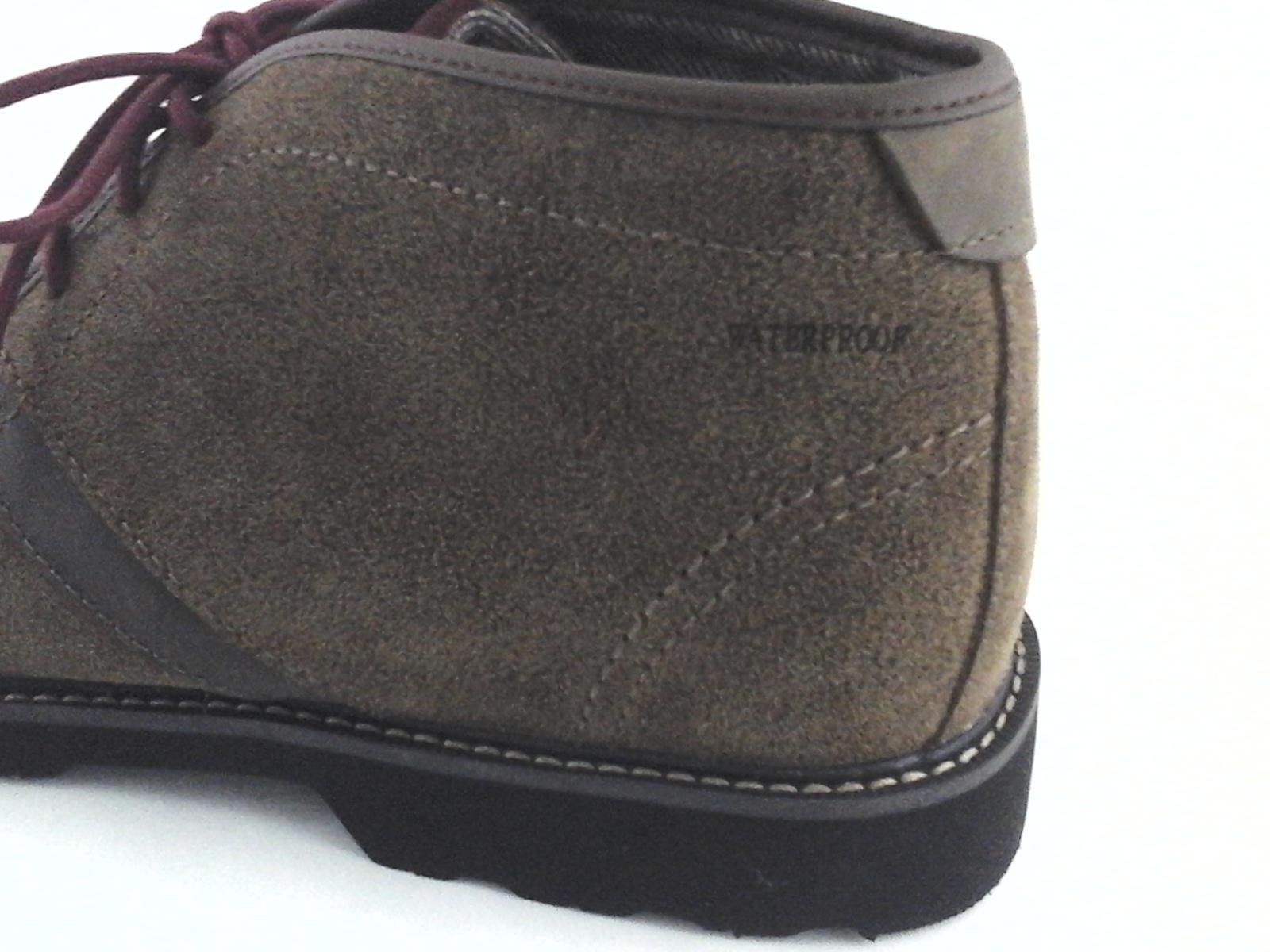 a2a628d942859 New Balance DUNHAM Chukka Boots Brown Suede Waterproof Men's 10 4E ...
