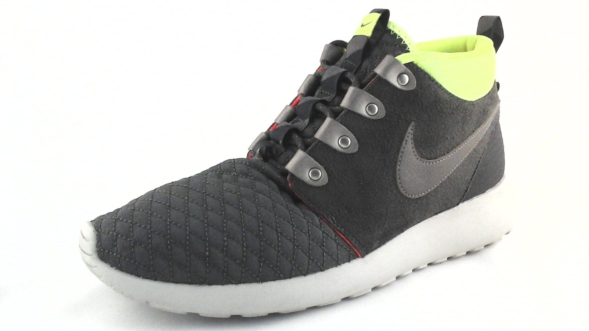 innovative design 7eea8 b62e1 Details about Nike Shoes 615601-007 Men s Roshe Run One Sneakerboot Quilt  Smoke US 9.5 EU 43